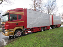 Scania cattle trailer truck R