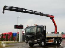 Kamion plošina MAN TGS 33.400/ 6X4/ BOX + CRANE PALFINGER 14002/17M