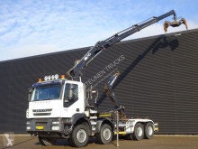 Camion polybenne Iveco AD340T41 / / / CRANE + HOOKLIFT