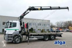 Camión Mercedes Axor 2536 L Axor 6x2, Kran Hiab 144D-4, Funk, AHK caja abierta usado