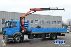 Mercedes dropside truck 1829 L Axor 4x2, Kran Palfinger PK9002, Funk