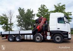 Kamion plošina Volvo 520 8x2 FASSI 600 + JIB
