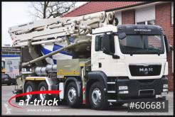 Camion béton toupie / Malaxeur MAN TGS 35.360BB Putzmeister 24-3 Roto Liebherr 7m³