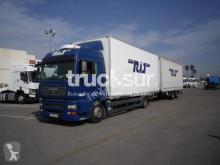 MAN box trailer truck TGA