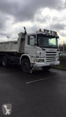 Scania two-way side tipper truck P 114P380