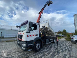 MAN two-way side tipper truck TGM