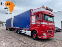 Kamion s návěsem DAF posuvné závěsy použitý