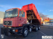 MAN 26.342 Full steel - Manual - Mech pump truck used tipper