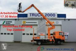 Camion piattaforma aerea MAN 8.163 Ruthmann 17.3 m Arbeitshöhe 10 m seitlich