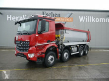 Mercedes LKW Absetzkipper Arocs 3243 8x4 Carnehl Hardox Mulde, Blatt/Blatt