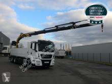 Camion plateau MAN TGS 26.470 6X2-4 LL HYVA 213 - 21tm
