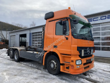 Camion Mercedes Actros 2541 L 6x2 Euro 5 Abrollkipper Lift Lenk polybenne occasion