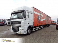 Camion remorque DAF XF105 rideaux coulissants (plsc) occasion