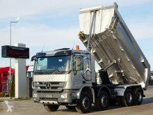 Camion Mercedes ACTROS 3241 / 8X4 / MEILLER KIPPER / HYDROFLAP / benne occasion
