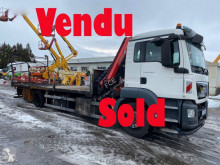 Camion MAN TGS 18.320 plateau accidenté