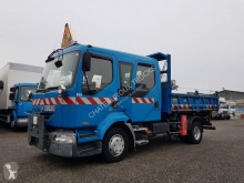 Renault three-way side tipper truck Midlum 220.12 C