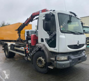 Camión volquete Renault Midlum 270DXI Kran