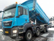 Camión MAN TGS41480-SCHALTER-RETARDER-KH BORDMATIC-ORGKM volquete volquete trilateral usado
