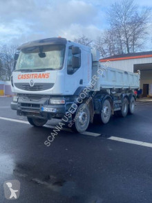 Renault two-way side tipper truck Kerax 410 DXI