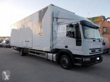 Iveco box truck Eurocargo 120E28 TECTOR 9.60 CON PEDANA 2003