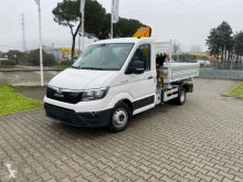 MAN three-way side tipper van