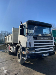 Scania C 114C340 truck used two-way side tipper