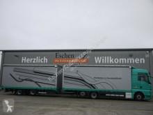 Camion remorque MAN TGX TGX 26.440 LL Jumbo Hubdach, Robert Anhänger 15 savoyarde occasion