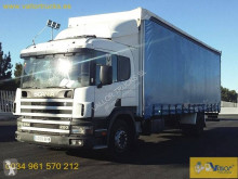 Camión Scania D 94D220 tautliner (lonas correderas) usado