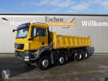MAN three-way side tipper truck TGS TGS 35.440 8x6BB, Meiller 3-Seiten Kipper, Klima