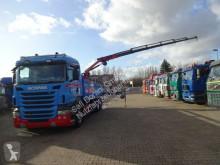 Camion Scania R440 Pritsche mit PK18002 und Seilwinde occasion