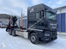 MAN LKW TGX 33.580 6x4 Holztransporter Kran Palfinger