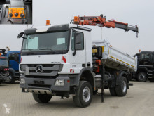 Mercedes three-way side tipper truck Actros 1848 AK 2-Achs Allradkipper Kran Funk