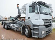 Kamión vozidlo s hákovým nosičom kontajnerov Mercedes Axor 2543 KLIMA FUNK MEILLER 15to NL - TÜV