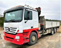 Camion Mercedes ACTROS Pritsche + Kran *Topzustand! 6x2* plateau occasion