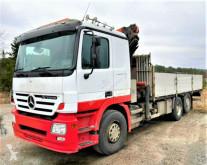 Camión Mercedes ACTROS Pritsche + Kran *Topzustand! 6x2* caja abierta usado