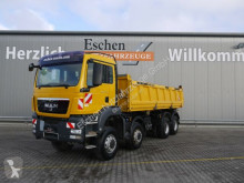MAN three-way side tipper truck TGS TGS 35.440 8x6 BB Meiller 3-Seiten mit Bordmatik