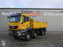 MAN TGS 35.440 8x6 BB Meiller 3-Seiten mit Bordmatik truck used tipper