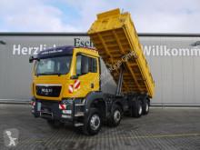 Vrachtwagen driezijdige kipper MAN TGS 35.440 8x6 BB Meiller*Bordmatik*1.Hand*Klima