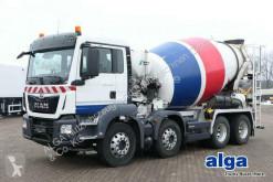 Camion MAN 32.420 TGS BB 8x4, Stetter, 9m³, Euro 6, Klima béton toupie / Malaxeur occasion