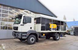 Camion rideaux coulissants (plsc) MAN TGM 18.280 BB 4×4 SERVICE / LUBRICATION TRUCK