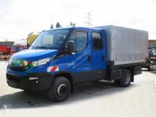 Veículo utilitário Iveco Daily 60 C 18 Pritsche Doppelkabine caixa aberta com lonas usado