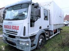 Iveco függönyponyvaroló teherautó Eurocargo SAVOYARDE DOUBLE CABINE