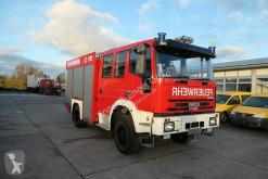 Camion Iveco FF 95 E LF 8 DoKa AHK 4X4 SFZ FEUERWEHR Einzelbe