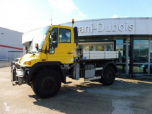 Unimog U400 truck used three-way side tipper