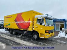 Camión Mercedes Atego 2528 Getränkewagen Getränke LBW caja abierta transporte de bebidas usado