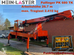 Equipamientos grúa auxiliar Palfinger Palfinger PK 680 TK 26,7 m-max.2.410 kg -Funk FB