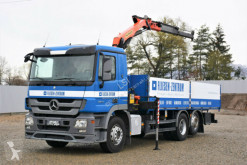 Camion plateau Mercedes Actros 2541 Pritsche 6,75m+ Kran*6x2*