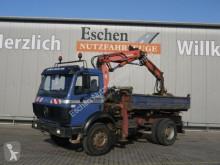 Mercedes SK 1722 AK 4x4,Atlas 80.1 Kran, 3-Seiten Kipper LKW gebrauchter Kipper/Mulde