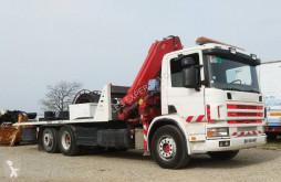 Camión de asistencia en ctra Scania P114