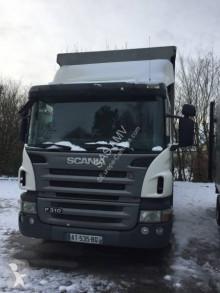 Camion Scania P114 bétaillère porcins occasion